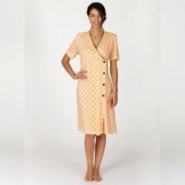 Robe de Chambre Manches Courtes, Déco, Egatex 161450