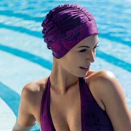 Bonnet de Bain Violet, Fashy, 3407