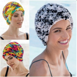 Bathing Cap, Multi Col., Fashy 3449