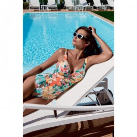 Swimsuit One piece with V-neck, Vacanze Italiane 6510VF