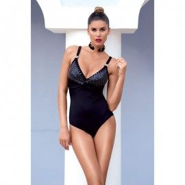 One piece swimsuit with accessory Yacht club, David 6502DE