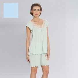 Pyjama Short Sleeves & Short, Amelia, Coemi 162C813