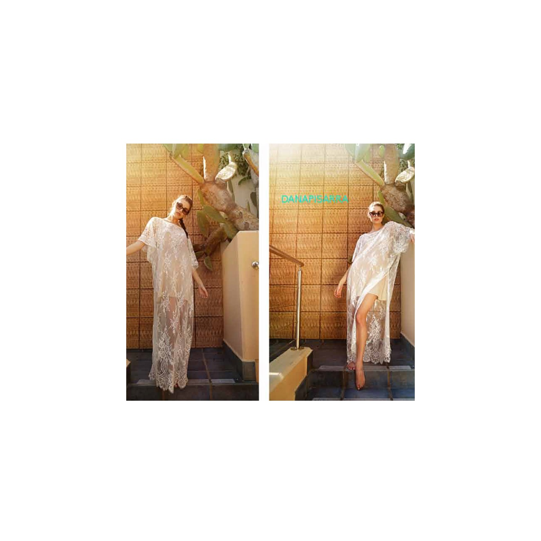 robe longue manches courtes lux dana lux la1653 na lingerie caroline. Black Bedroom Furniture Sets. Home Design Ideas