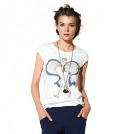 T-Shirt Impirmé, Twin-Set BS6MCC