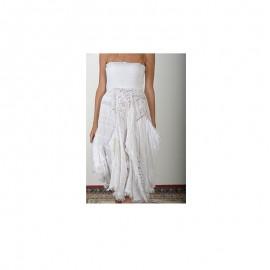Robe Longue Bustier, 100% Coton, Antica Sartoria 20161229