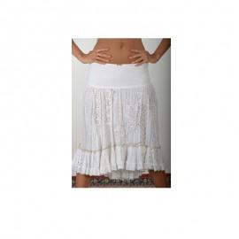 Lace skirt, 100% Coton, Antica Sartoria 20161220