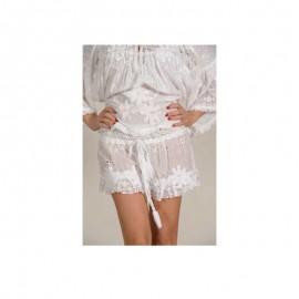 Lace shorts, 100% Coton, Antica Sartoria 20161440