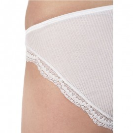 Pleated Briefs Lace, 100% Lisle, Oscalito 3161