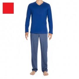 Pyjama Manches Longues et Pantalon, Elegant, Hom 400320
