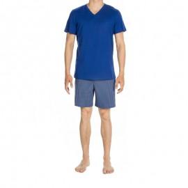 Pyjama Manches Courtes et Short, Elegant, Hom 400319