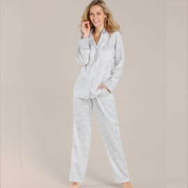Long Sleeves Pajamas & Trousers, Lace Flowers, Taubert 162876-633