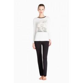 Pyjama Manches Longues et Pantalon, Twin-Set LA66CC