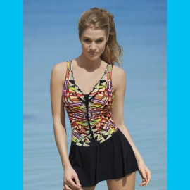 One Piece Swimsuit with Dress, Sun Graphics, Sunflair 2233517