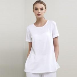 Tee-Shirt Manches Courtes en Lin Stretch Cora, Max Mara CORA