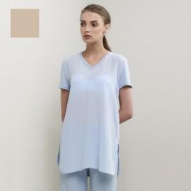 Tee-Shirt Manches Courtes Crépe de Chine, Lastra, Max Mara LASTRA