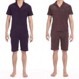Pyjama Short sleeve T-Shirt + Bermuda, Marlon, Hom 400473