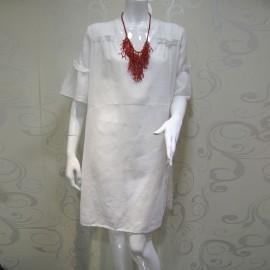Robe Tunique Manches Courtes, Mariana Marchesini AZALEA