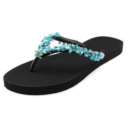 Chaussures Sandales, BlueFabulous Création, Uzurii BLUE_FABULOUS