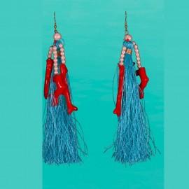 Earings, 100% Nylon, Antica Sartoria 2017S864