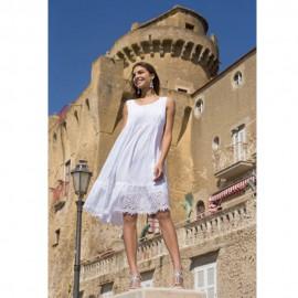 Round Neckline Dress, Iconique 009IC7