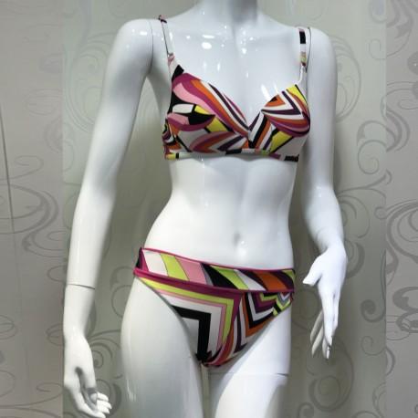 Bikini 2 Pièces Coque Bra+ Full Brief, Domani 1202H