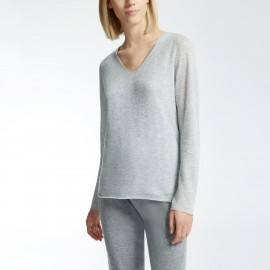 Pull Manches Longues 100% Cachemire, Candore, Max Mara CANDORE-002
