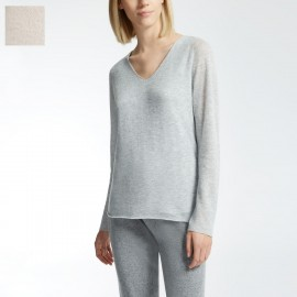 Pull Manches Longues 100% Cachemire, Candore, Max Mara CANDORE-001
