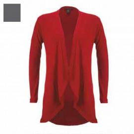 Long Jacket Merinos Wool & Silk Long Sleeves, Artimaglia 28204