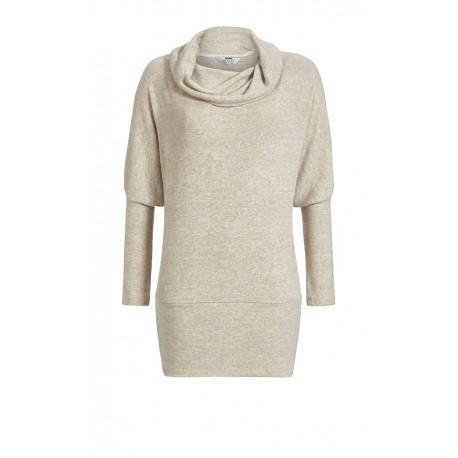 Long Sweater Chiné Grand Col, Solo Per Me 7538401/153