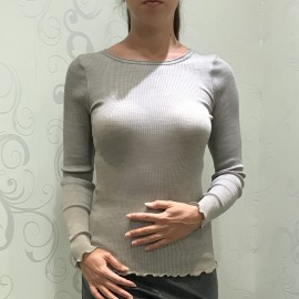 Pull Manches Longues Laine & Soie, Oscalito 3446R_372