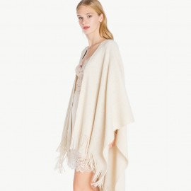 Poncho Veste écharpe 3/4, Twin-Set LA7ZAA-OR