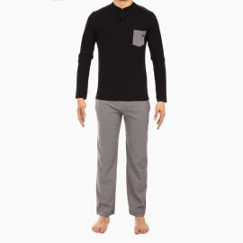 Pyjama Long, Geometric, Hom 400678