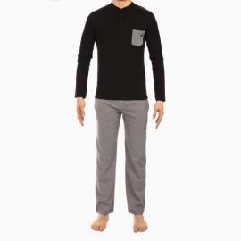 Pyjama Long, Geometric, Hom 400678