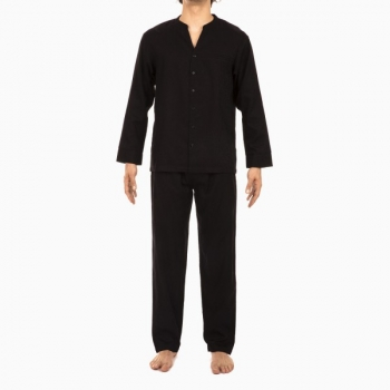 Pyjama Long Boutonné, Mosaic, Hom 400668