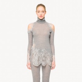 Sweater Manches Longues, Sandra Milo, Ermanno Scervino D314M441511