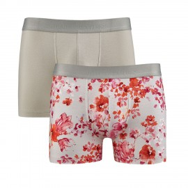 Pack Duo Boxer Clair de Rose, Aubade Men XB53M-CLAI