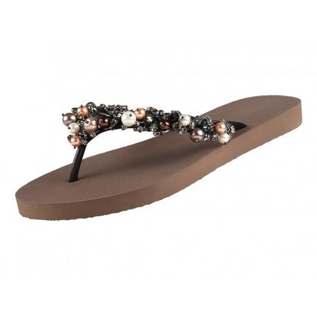 Chaussures Sandales, Treasure, Uzurii TREASURE-TAUPE