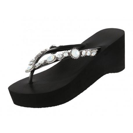 Chaussures Sandales, Marlyn High Heel, Mid Heel, Uzurii MARLYN-HH-NOIR