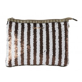 Bag Clutch Small, Uzurii, CLUTCHSMAL-TAUPE