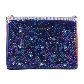 Sac Clutch Padded Small, Uzurii, CLUTCHSMALPAD-BLUE