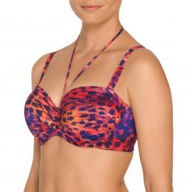 Maillot de Bain Bikini Bandeau Rembourré, Sunset Love, Prima Donna 4004617