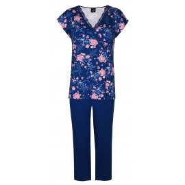 Pyjama Pantalon Court, Alice, Le Chat ALICE402