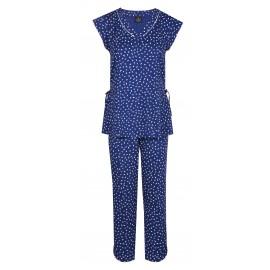 Pyjama Pantalon Court, Sacha, Le Chat SACHA402