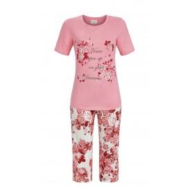 Pyjama Manches Courtes Pantalon Corsaire, Ringella 8261237/611
