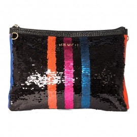 Sac Clutch Small Stripe, Uzurii, CLUTCHSMAL-STRIPE