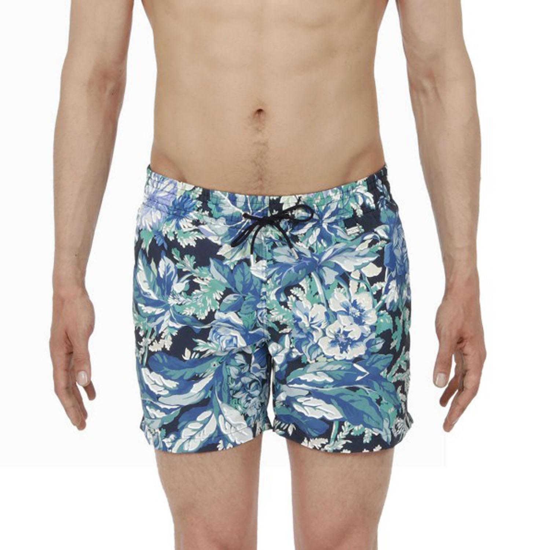 maillot de bain boxer de plage beach lagon hom 400838. Black Bedroom Furniture Sets. Home Design Ideas