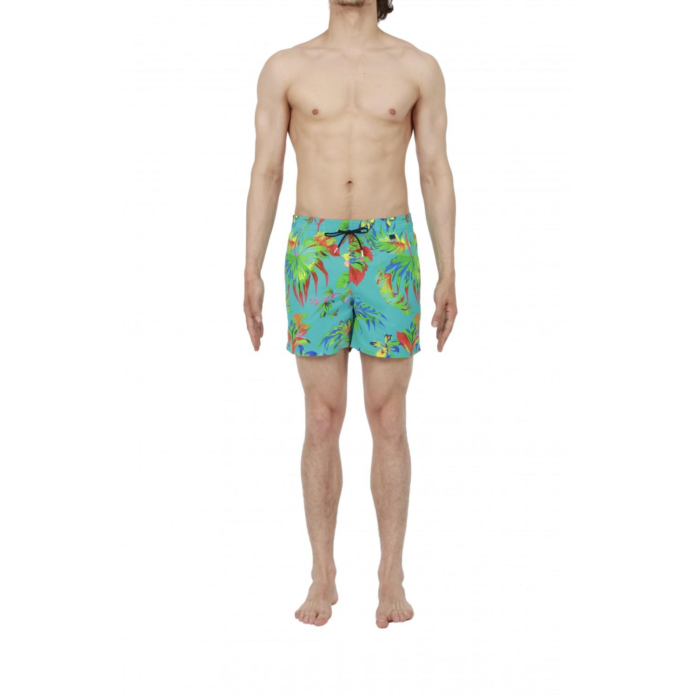 maillot de bain boxer de plage beach paradisiaque hom 400844 00pf caroline lingerie. Black Bedroom Furniture Sets. Home Design Ideas