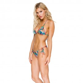 Maillot de Bain Triangle Bikini, Viva Cuba, Luli Fama L54801-111