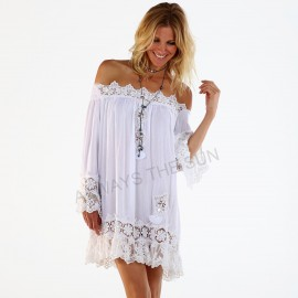 Top Epaules Nues Patchs et Sequins, Samana, Always The Sun, OA18-53W
