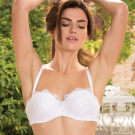 Bandeau Coque Bra with removable Sraps, Charme Estival, Lise Charmel ACG5601